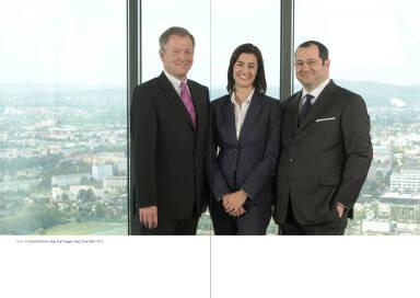 V.l.n.r.: Eduard Zehetner, Birgit Noggler, Daniel Riedl