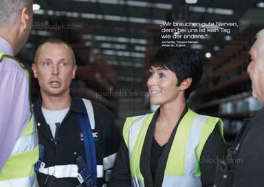 """Joe Gantley, Transport Manager, Metsec plc, England: """"Wir brauchen gute Nerven, denn bei uns ist kein Tag wie der andere."""""""