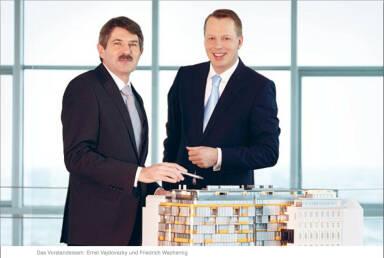 Vorstandsteam: Ernst Vejdovszky und Friedrich Wachernig