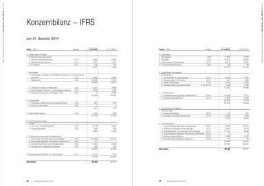 Binder+Co Konzernbilanz - IFRS