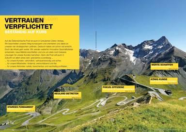 Österreichische Post Geschäftsbericht 2013 - Vertrauen verpflichtet