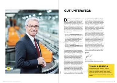 Österreichische Post Geschäftsbericht 2013 - Georg Pölzl, Gut unterwegs