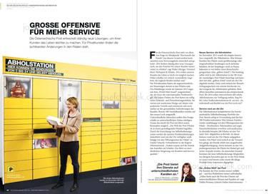 Österreichische Post Geschäftsbericht 2013 - Grosse Offensive für mehr Service