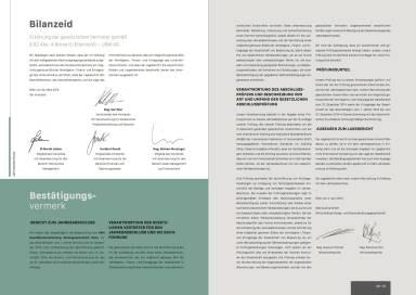 UBM Jahresfinanzbericht/Geschäftsbericht 2014 - Bilanzeid