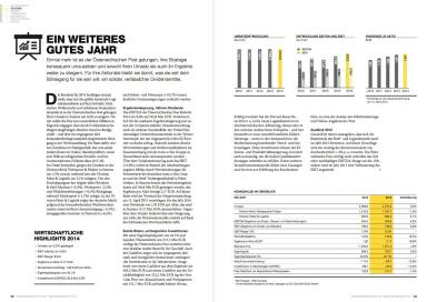 Österreichische Post Geschäftsbericht 2014 - Ein weiteres gutes Jahr