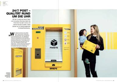 Österreichische Post Geschäftsbericht 2014 - 24/7 Qualität rund um die Uhr