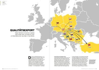 Österreichische Post Geschäftsbericht 2014 - Qualitätsexport