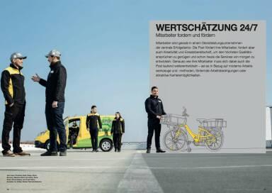 Österreichische Post Geschäftsbericht 2014 - Wertschätzung 24/7