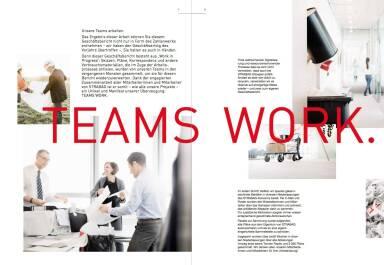 Strabag Geschäftsbericht 2014 - Teams Work