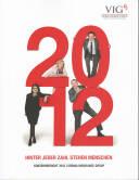 Vorne/Front of book 'Bericht Geschäfts - Vienna Insurance...