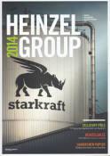 Vorne of book 'Bericht Geschäfts - Heinzel Group Geschäft...